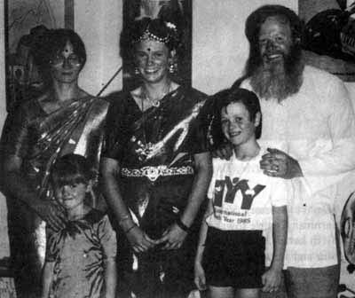 The Belle family pilgrimage to Malaysia, 1987