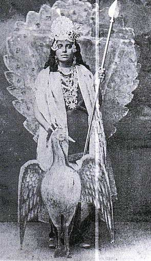 KB Sundarambal as Lord Murugan
