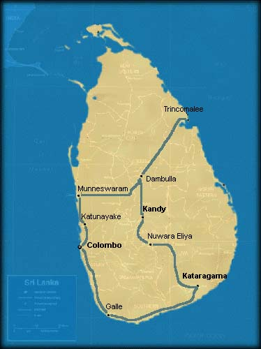 Sri Lanka pilgrimages