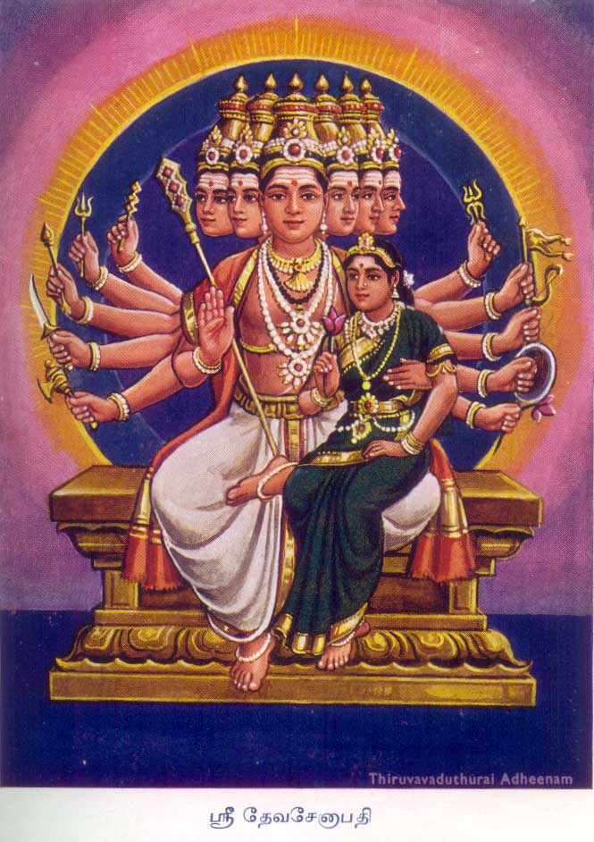 Devaseāpati: Skanda the Husband of Devasenā (or: 'Leader of the Divine Army')