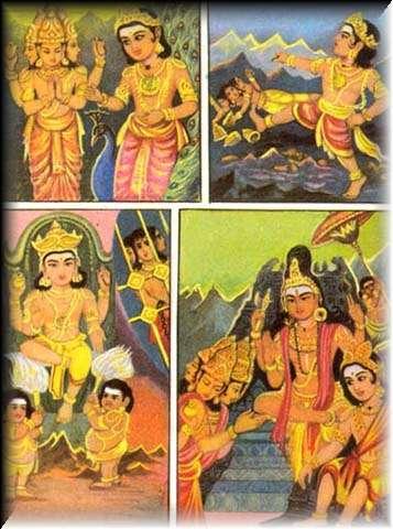 Array - kanda puranam 5  brahma is punished  rh   murugan org