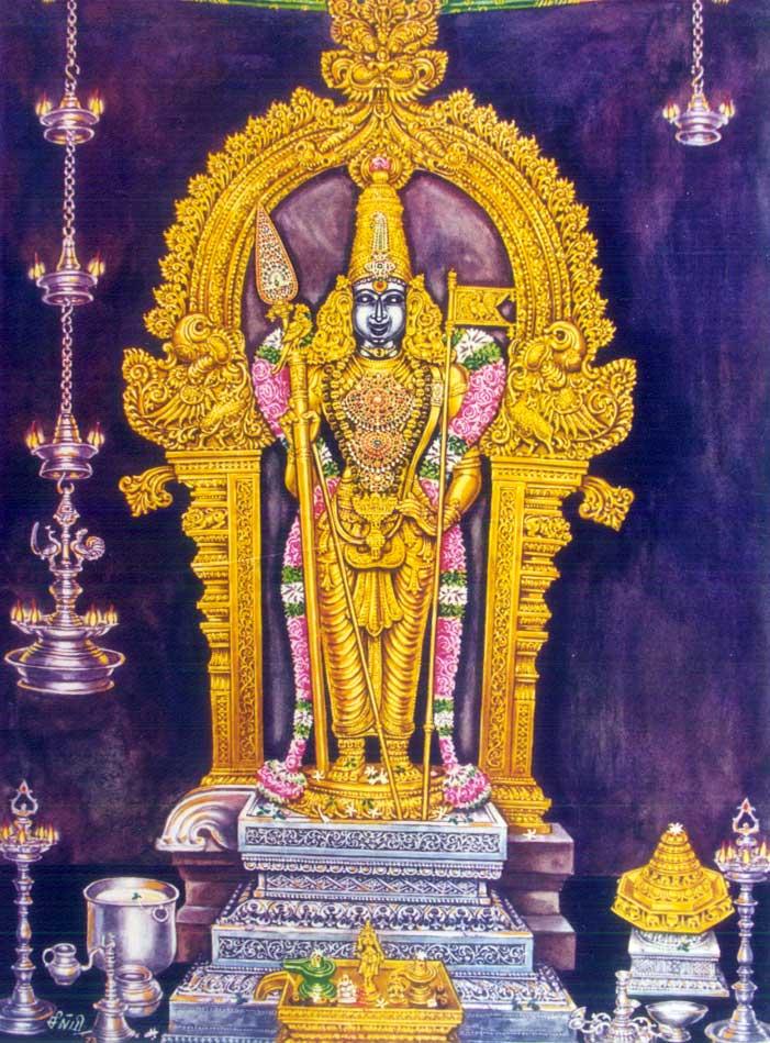 Palani Dandayudhapani Swami Tanga Kavacam [34 kb]