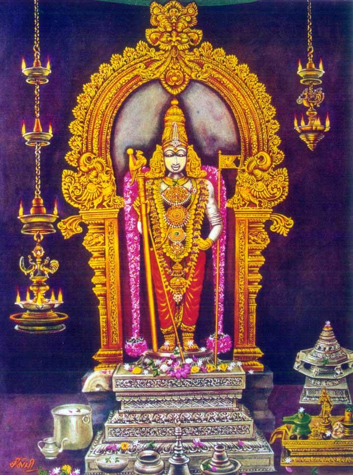 Palani Dandayudhapani Swami Raja Alankaram [33 kb]