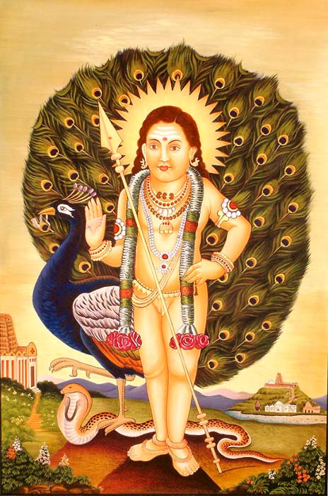 Skanda: Pan-Indian God of Love and War