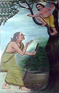 Avvaiyar and Murugan
