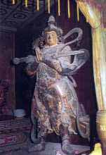 Skanda at Baima Monastery, China