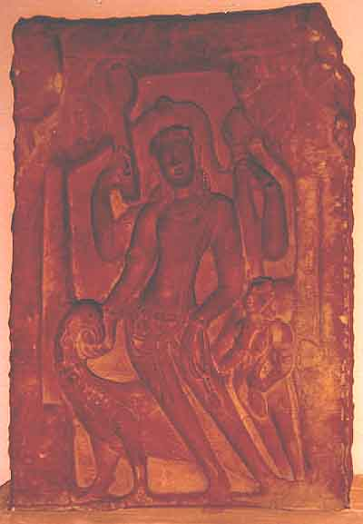 stone Karttikeya icon: Vardhana, 7th cent. AD, North India