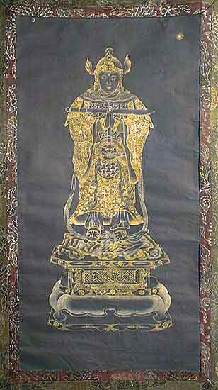 Skanda in Japanese Zen tradition