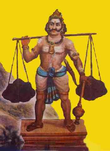 Idumban, the first Kavadi bearer