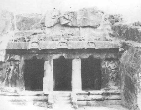 Fig. 79-A: Rock-cut Cave, Moghulrajapuram