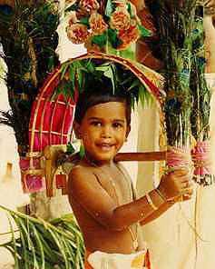 Kavadi child, Sri Lanka