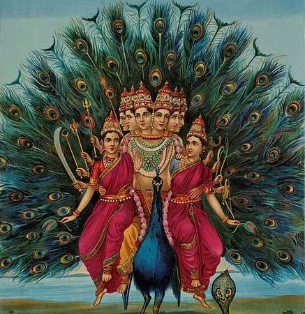Lord Karttikeya or Murugan