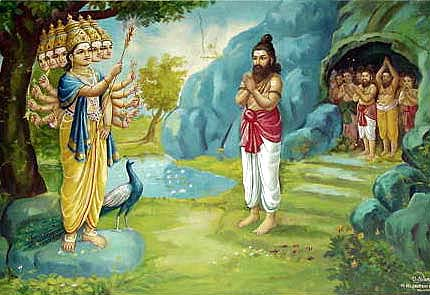 Lord Muruga frees Nakeerar and captives