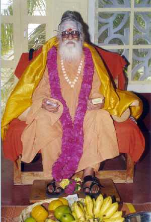 Santananda Swamigal, April 2000