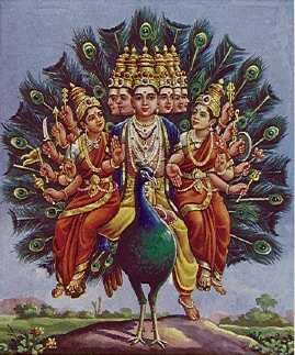 Shanmukha: Six-faced Aspect