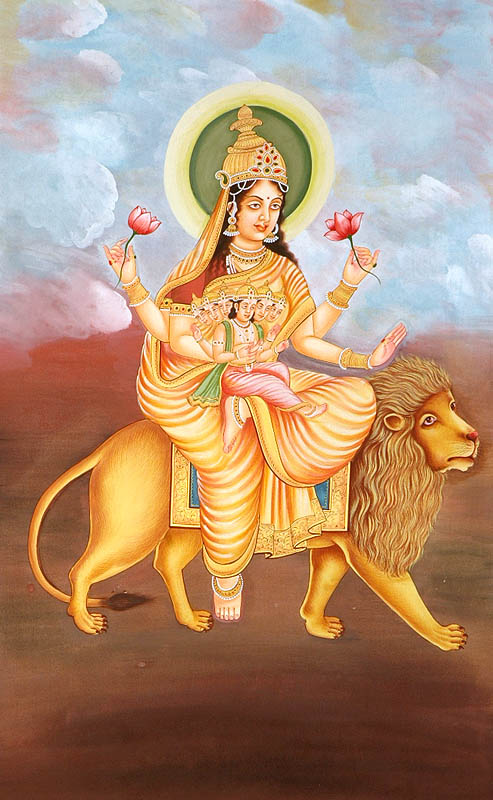 Skanda Mātā: Skanda as the son of Parvati