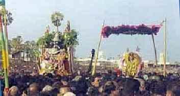 Surasamharam at Tiruchendur