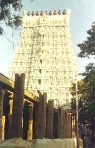 West Gopuram, Tiruchendur