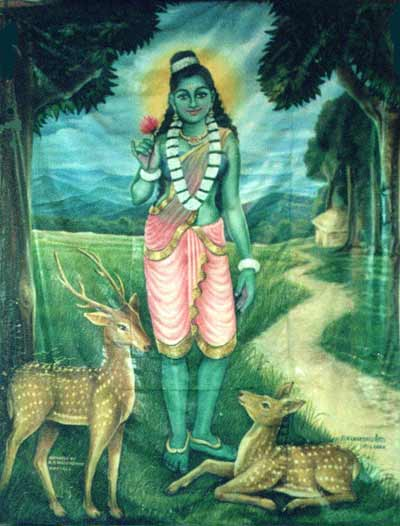 Valli Amma as depicted at Kataragama