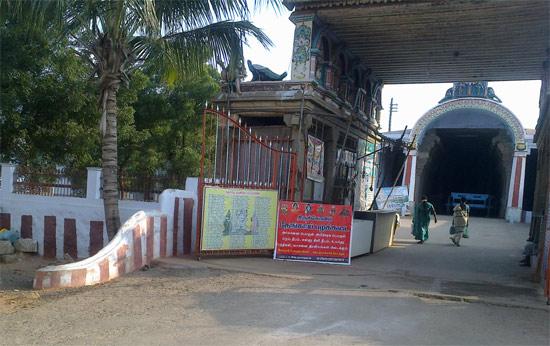 Entrance to Valliyoor Murugan Temple