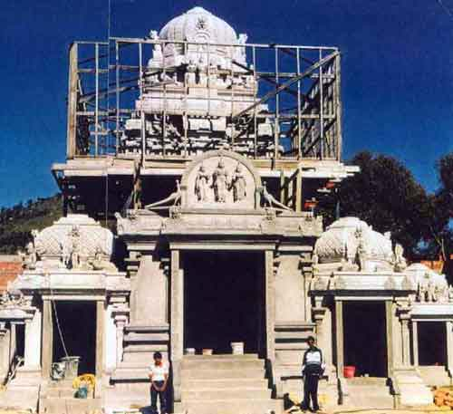 Canberra Murukan Temple construction in progress