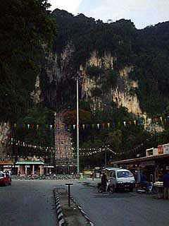 The main entrance to Batu Caves
