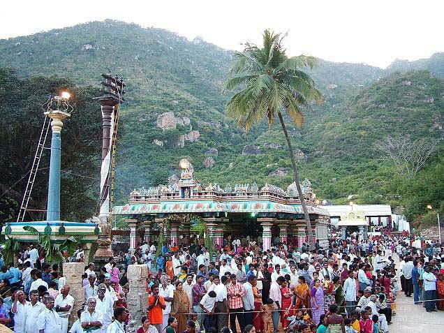 Hindu temples: palani thiru aavinangudi.