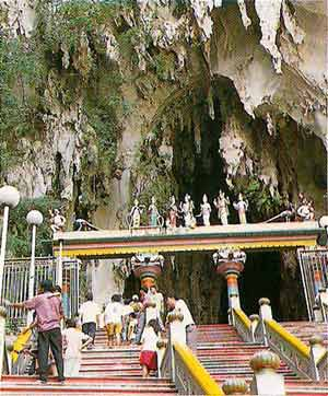 steps leading to Batu Caves