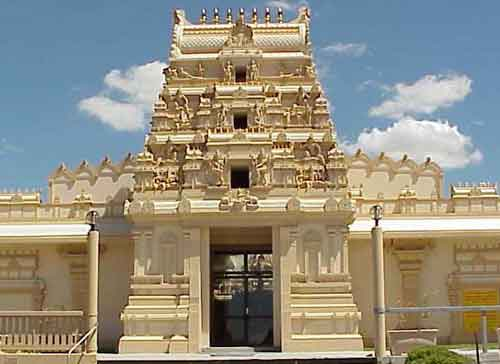 Sydney Murukan Temple gopuram and entrance