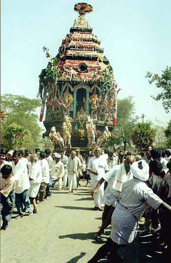 Vallimalai Chariot festival